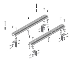 B&W Hitches RVR3200 Universal Mounting Rails
