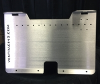 Under Dash Amp Mounting Plate
