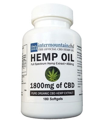 CBD Softgels - 1800mg