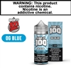 Keep it 100 - Blue Slushie (100mL)