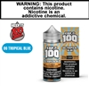 Keep it 100 - Blue Slushie Tropical  (100mL)