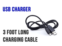 USB Charger - 3 feet - Charging cable for iStick