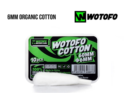 Wotofo - 6mm Organic Cotton Wicking Material