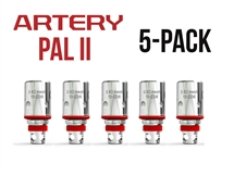 Artery Pal 2 0.6oHm Mesh Coils - 5 Pack