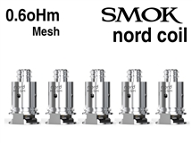 Smok Nord 0.6oHm Mesh Coils - 5 Pack