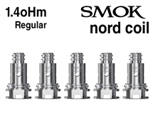 Smok Nord 1.4oHm Regular Coils - 5 Pack