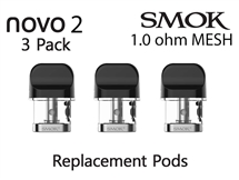 Smok Novo 2 Replacement Pods - 1.0 Mesh
