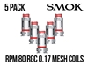 Smok RGC 0.17oHm Conical Mesh Coils - 5 Pack