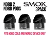 Smok Nord 2 Nord Pods - 3 Pack