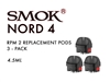 Smok Nord 4 RPM 2 Pods 3 Pack