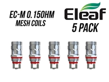 eLeaf EC-M Coils - 0.15oHm Mesh for MELO 4 (Five Pack)