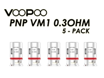VooPoo PnP - VM1 replacement coils 0.3ohm - 5 Pack