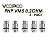 VooPoo PnP - VM5 replacement coils 0.2ohm - 5 Pack