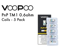 VooPoo PnP R2 Coils 1.0ohm 5 Pack