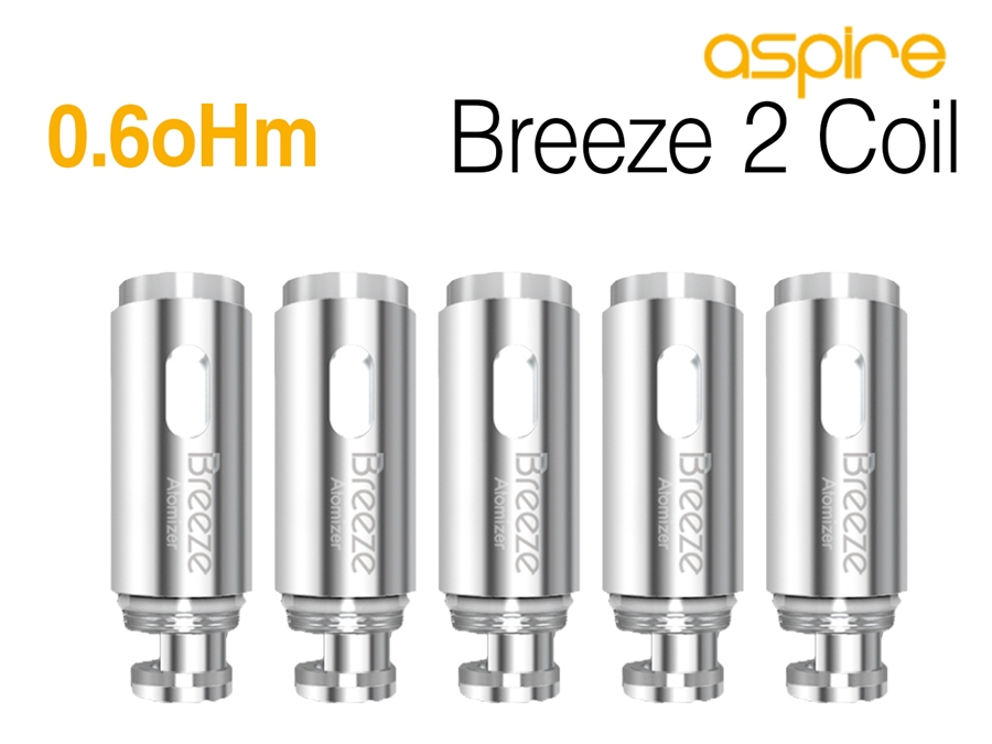 Aspire Breeze 2 0 6oHm Coils - 5 Pack