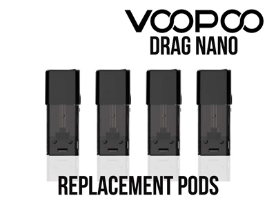 VooPoo Drag Nano Replacement Pods