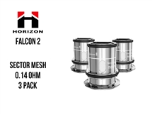 Horizon Falcon 2 - Sector Mesh - 0.14oHm - 3-Pack