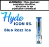 Hyde Icon Disposable Blue Razz Ice 50mg