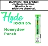 Hyde Icon Disposable Honeydew Punch 50mg
