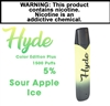 Hyde Plus Disposable Sour Apple Ice 50mg