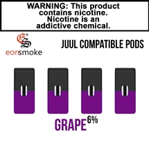 Eon Smoke Juul Compatible Pods - Grape (6%)