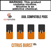 Eon Smoke Juul Compatible Pods - Citrus Burst (6%)