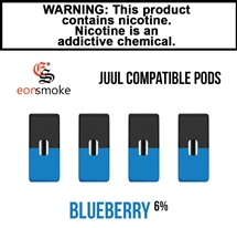 Eon Smoke Juul Compatible Pods - Blueberry (6%)
