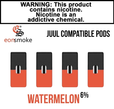 Eon Smoke Juul Compatible Pods - Watermelon (6%)