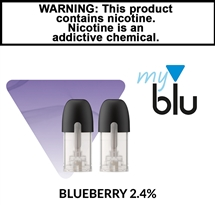 MyBlu Liquipods - Blueberry - 2.4%