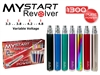 Mystart Revolver Variable Voltage eGo 1300mAh Starter Kit