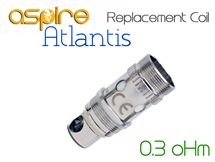 Aspire Atlantis Replacement Coils - 0.3 oHm