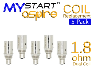 Mystart Aspire BDC Replacement Coil 1.8 oHm