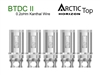 Horizon Arctic Top BTDC II Coil - 0.2oHm 5 Pack