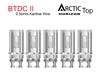 Horizon Arctic Top BTDC II Coil - 0.5oHm 5 Pack