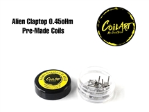 Coil Art - Alien Clapton 0.45oHm Pre-Made Coils