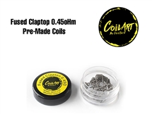 Coil Art - Fused Clapton 0.45oHm Pre-Made Coils