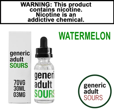 Generic Adult Sours - Watermelon (30mL)