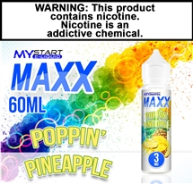 Mystart MAXX - Poppin' Pineapple (60mL)