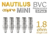 Nautilus BVC Replacement Coils 5-Pack