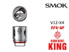 Smok TFV12 Cloud Beast KING Coils - V12X4
