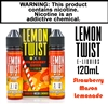 Lemon Twist - Strawberry Mason Lemonade (120mL)
