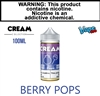 Vape100 Cream Collection - Berry Pops (100mL)