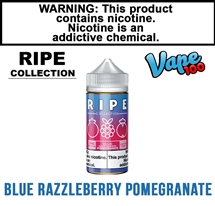 Vape100 Ripe Colleciton - Blue Razzleberry Pomegranate (100mL)