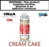 Vape100 Cream Collection - Strawberry Cream Cake (100mL)