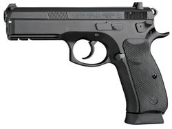 CZ 75 SP-01 Tactical 9MM 4.7 BLK RAIL 2 mags NS