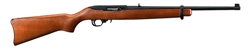 "Ruger 10/22  1103 Carbine .22 Long Rifle 18.5"" Barrel, New Black Matte Finish, Hardwood Stock, 10 Round Magazine"