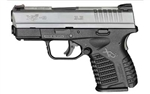"SPRINGFIELD XDS 9MM 3.3"" BITONE 7RD XDS9339S"