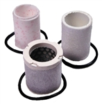 2609-100P GfG Instrumentation Replacement Filter Kit for 100CFM 8100 Wall Mounted or 9100 Portable Filter Panel.