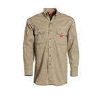 Dickies Flame Resistant Button Down Amtex Work Shirt 2837KH 2837NB