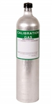 Oxygen O2 Calibration Gas Test Cylinder for Gas Monitor Calibration with NIST Certificate